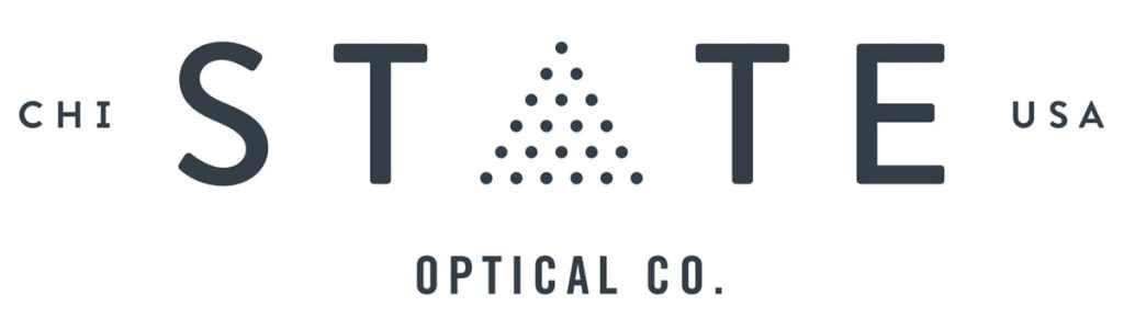 state optical logo