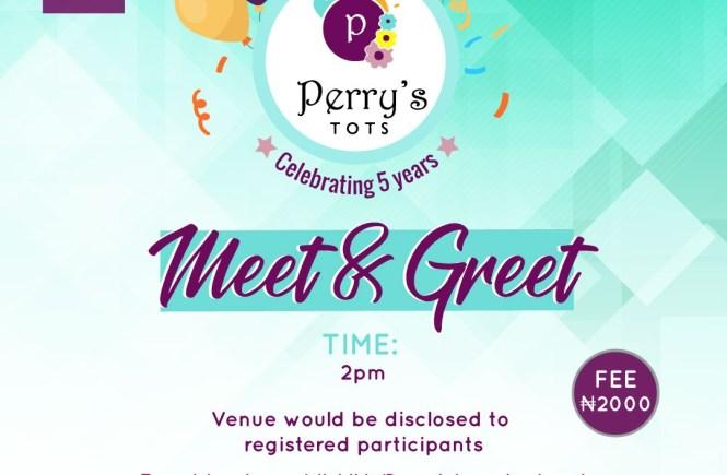 Perry's Tots Meet & Greeet