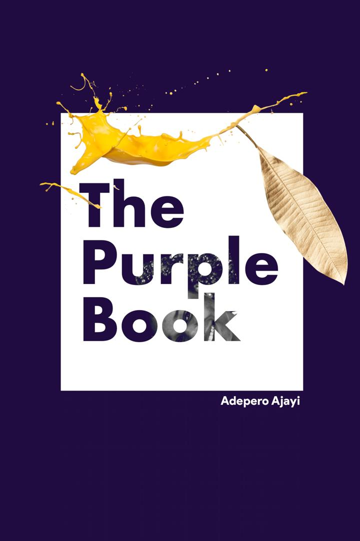 THE PURPLE BOOK COVER
