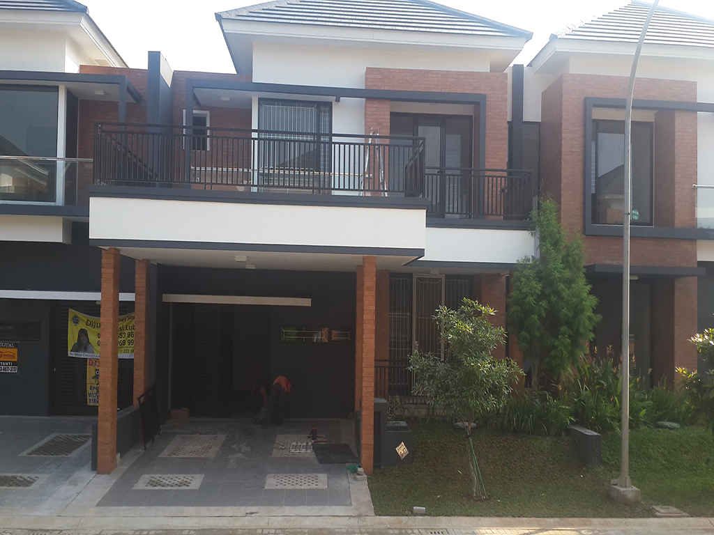 renovasi rumah discovery bintaro 1