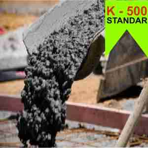 Mutu Beton K 500 Ready Mix