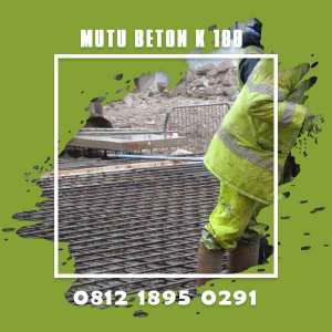 Mutu Beton K 100 Ready Mix