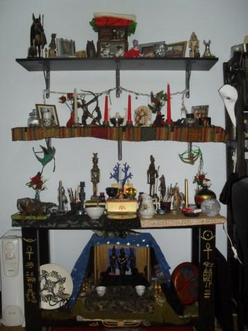 The shrine as a whole.