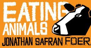 An image of Eating Animals by Johnathan Safran Foer Book Cover Art