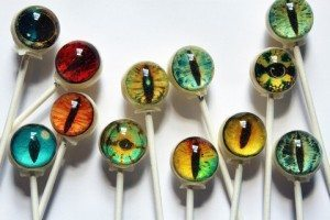 Spooky Eyes Halloween Lollipops by VintageConfections, $10.50