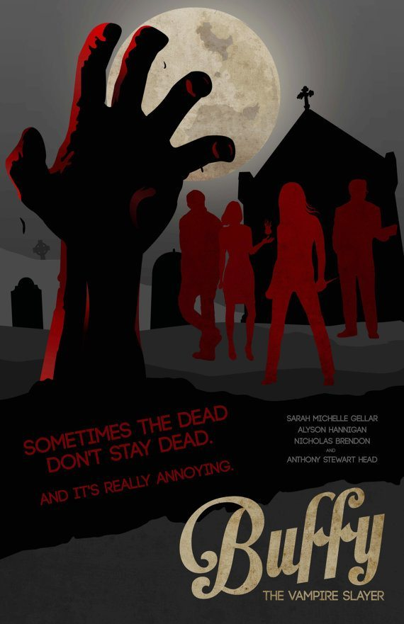 welcome to sunnydale poster