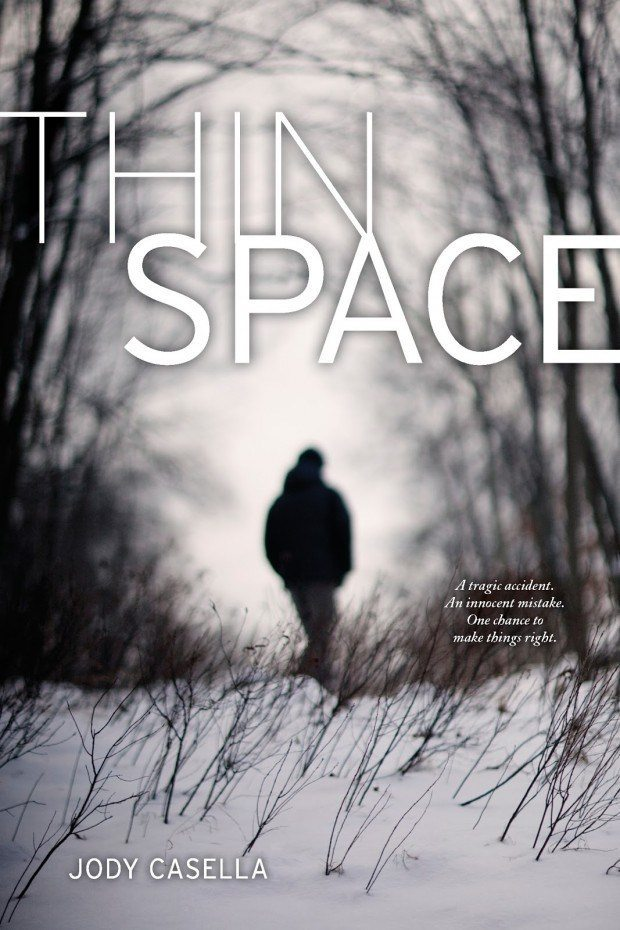 Book Cover of Thin Spaces by Jodie Casella
