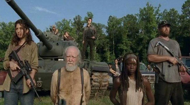 """A still image from """"The Walking Dead."""""""