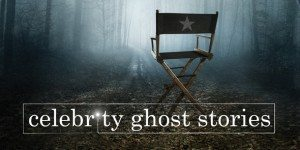 A director's chair sits in a spooky forest.