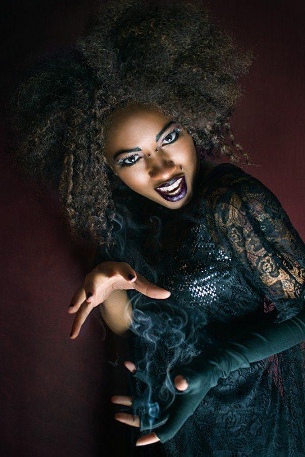 Witch Model Pesky Suicide