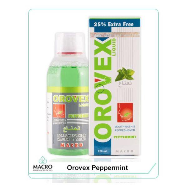 غسول الفم بالنعناع - 250 مل Orovex