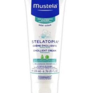 موستيلا ستيلاتوبيا كريم مرطب للبشرة الجافة و الاتوبية - 200 مل