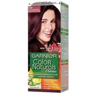 غارنيه صبغة شعر كولور ناتشرالز كريم - 3.61 أحمر توتي جذاب