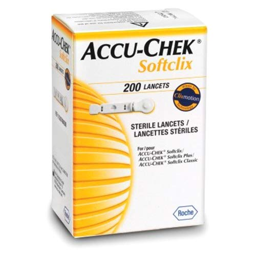 ابر وخز من ACCU CHEK softclix 200 ابرة