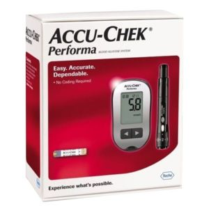 ACCU chek performa جهاز قياس سكر