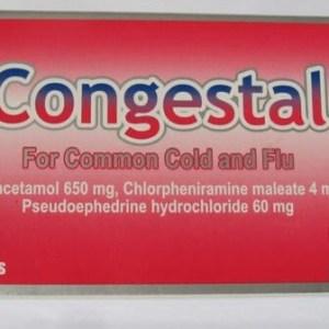كونجستال أقراص | لعلاج البرد والرشح والزكام