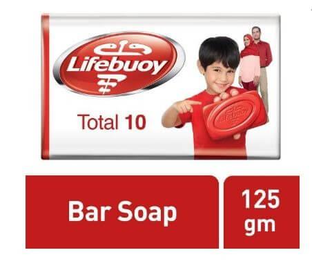 لايف بوي صابونة توتال 10 - 125 مل