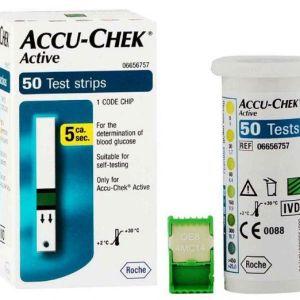 ACCU CHEK active شرائط 50 قطعة