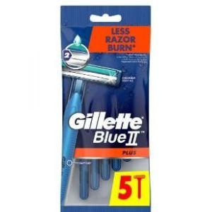 جيليت بلو بلاص - ماكينة حلاقة للرجال - 5 مكينات