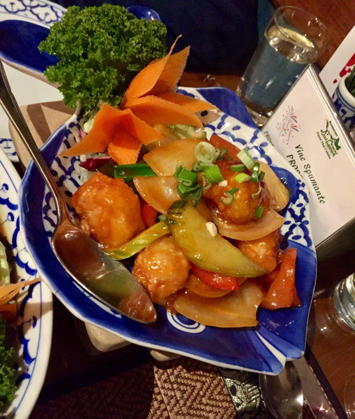 Deep fried monkfish pieces (No. 74)