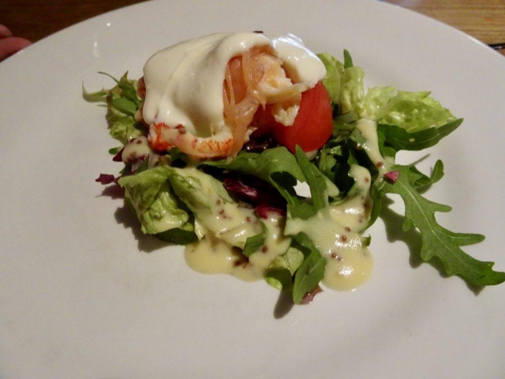 Smoked Salmon and Crayfish Salad - Starter