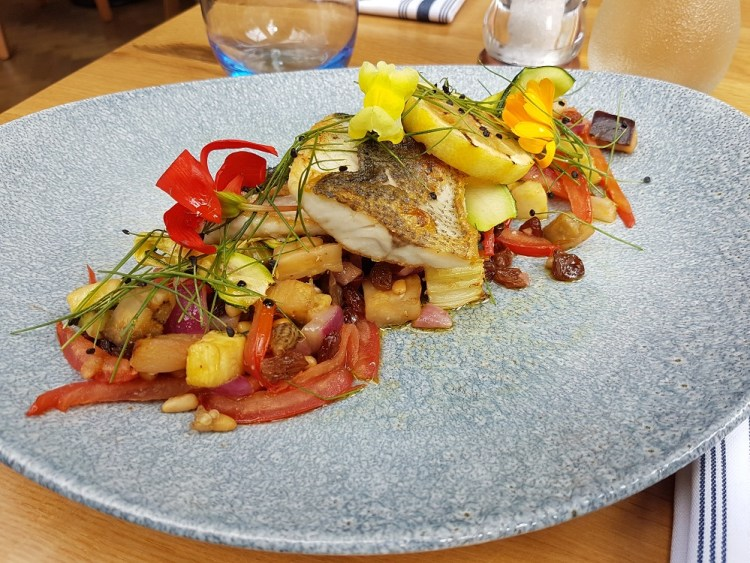 The Orangery Pan Fried Sea Bass Fillet