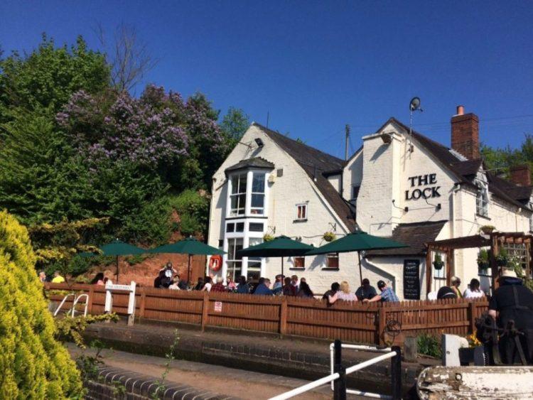 The Lock Inn Wolverley sunny day large 1