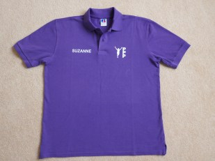"Polo Shirt ""Mens"" Front"