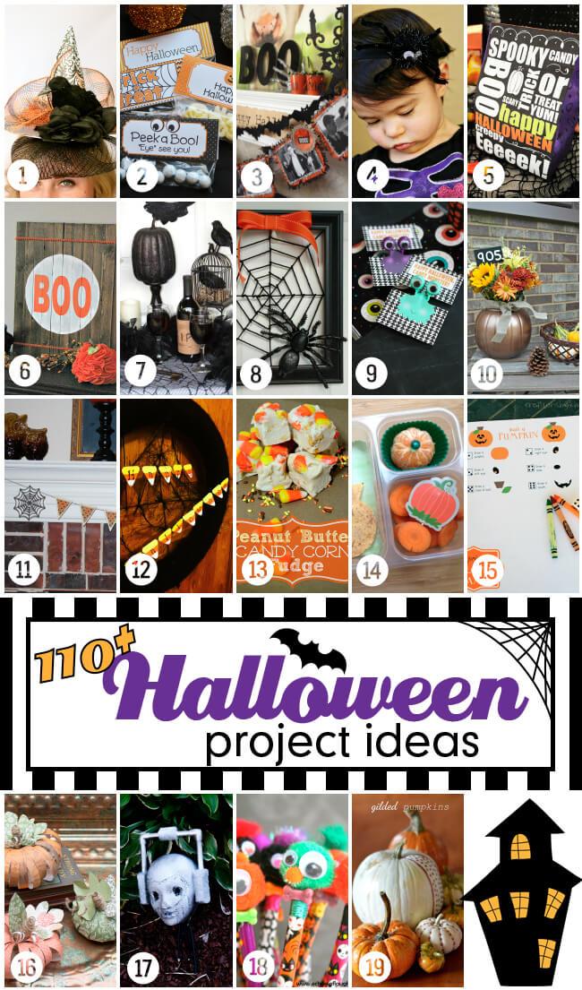 110+ Halloween Project Ideas