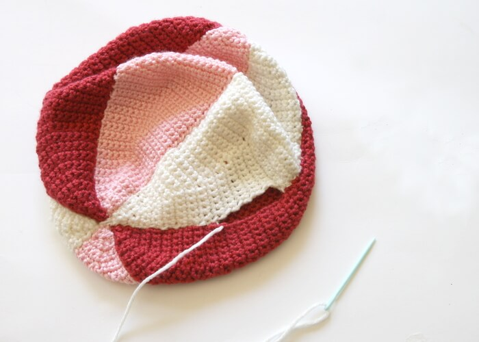 sew together crochet ball pattern