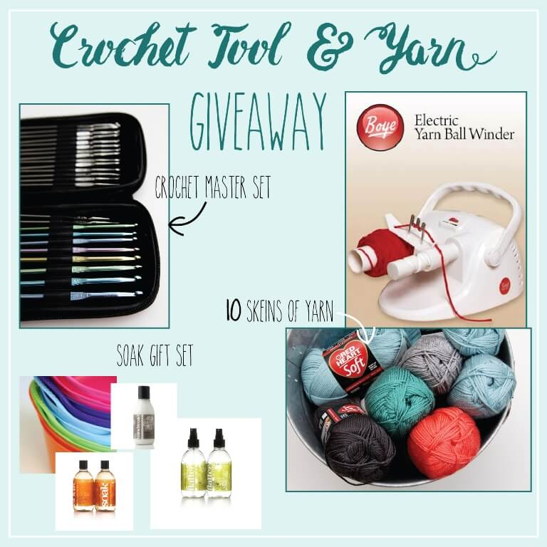 crochet tool and yarn giveaway