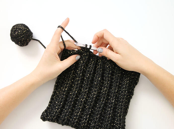 black cat slouch - free Crochet Cat Hat pattern from persia lou