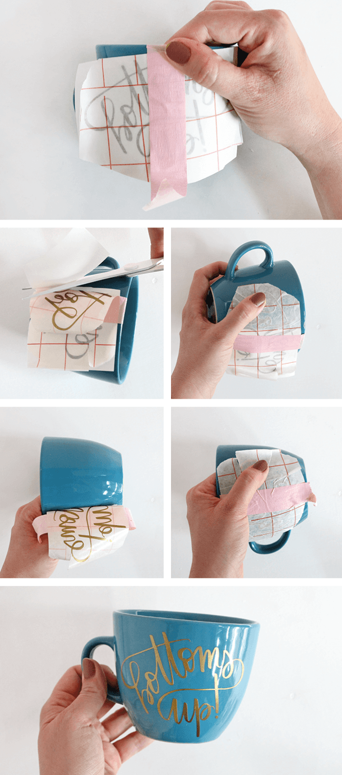 Learn How To DIY Personalized Mugs And Tea Cups from home.