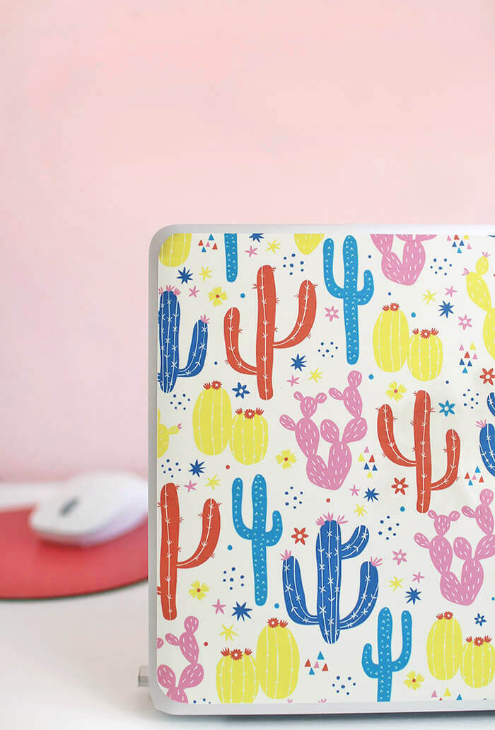 DIY laptop skin - learn how to make your own custom, durable laptop skin at home