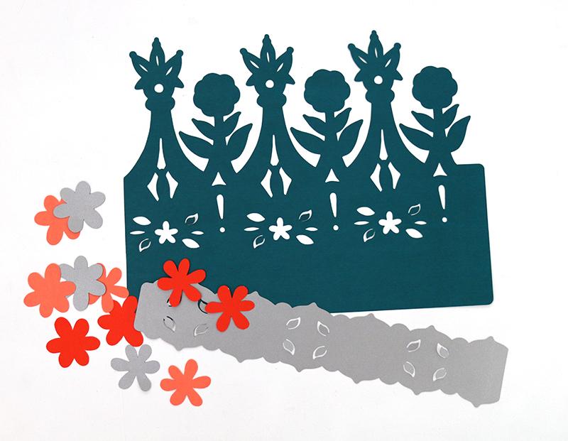 cut out - diy paper crowns