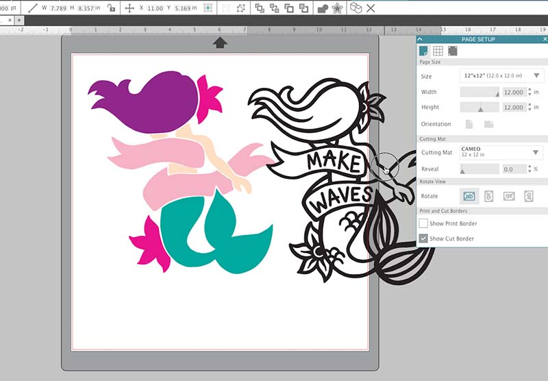 multi layered design - how to cut by color on silhouette