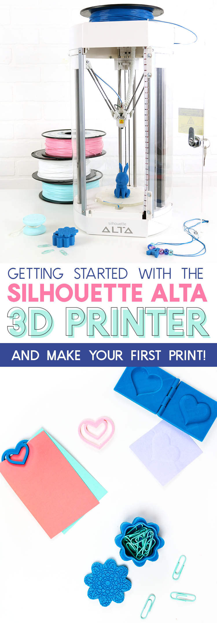 getting started with the silhouette alta 3d printer and making your first print