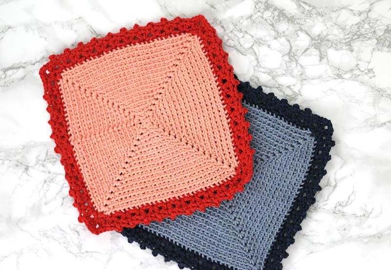 cottage crochet dishcloth free pattern