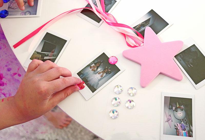 decorating unicorn photo booth pics diy unicorn party