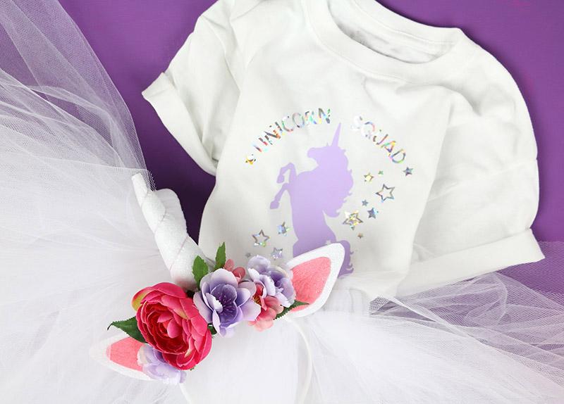 diy unicorn squad outfit free unicorn cut file