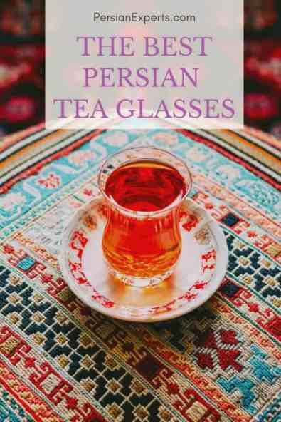 The Best Persian tea glasses and tea sets. Our product recommendation for the most traditional Persian and Iranian tea cups and tea glasses.
