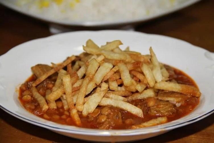 Best Persian recipes - Khoresh Gheimeh