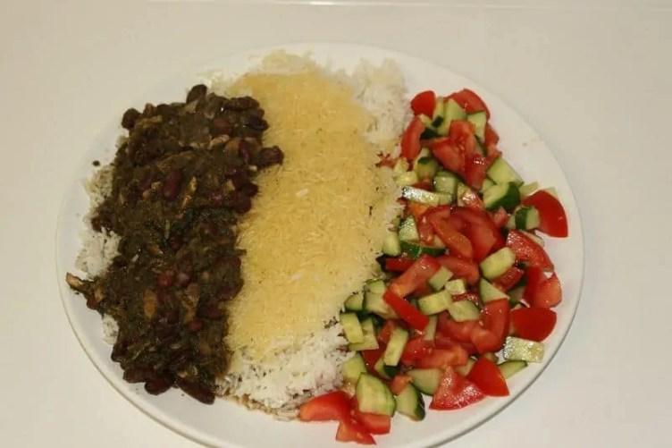 Ghormeh Sabzi Persian food