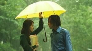 love rain umbrella