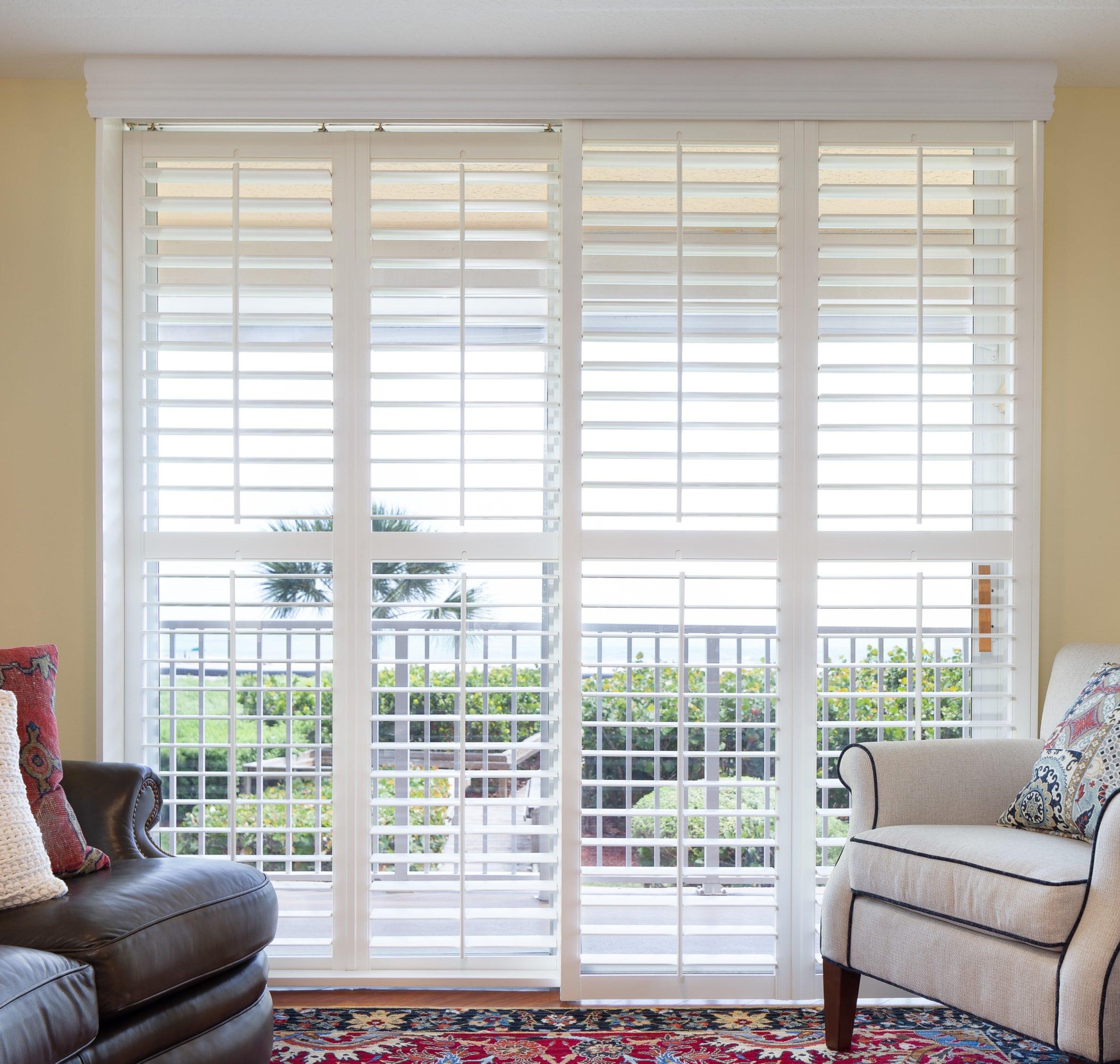 Window Treatments Plantation Shutters Persimmon Interior