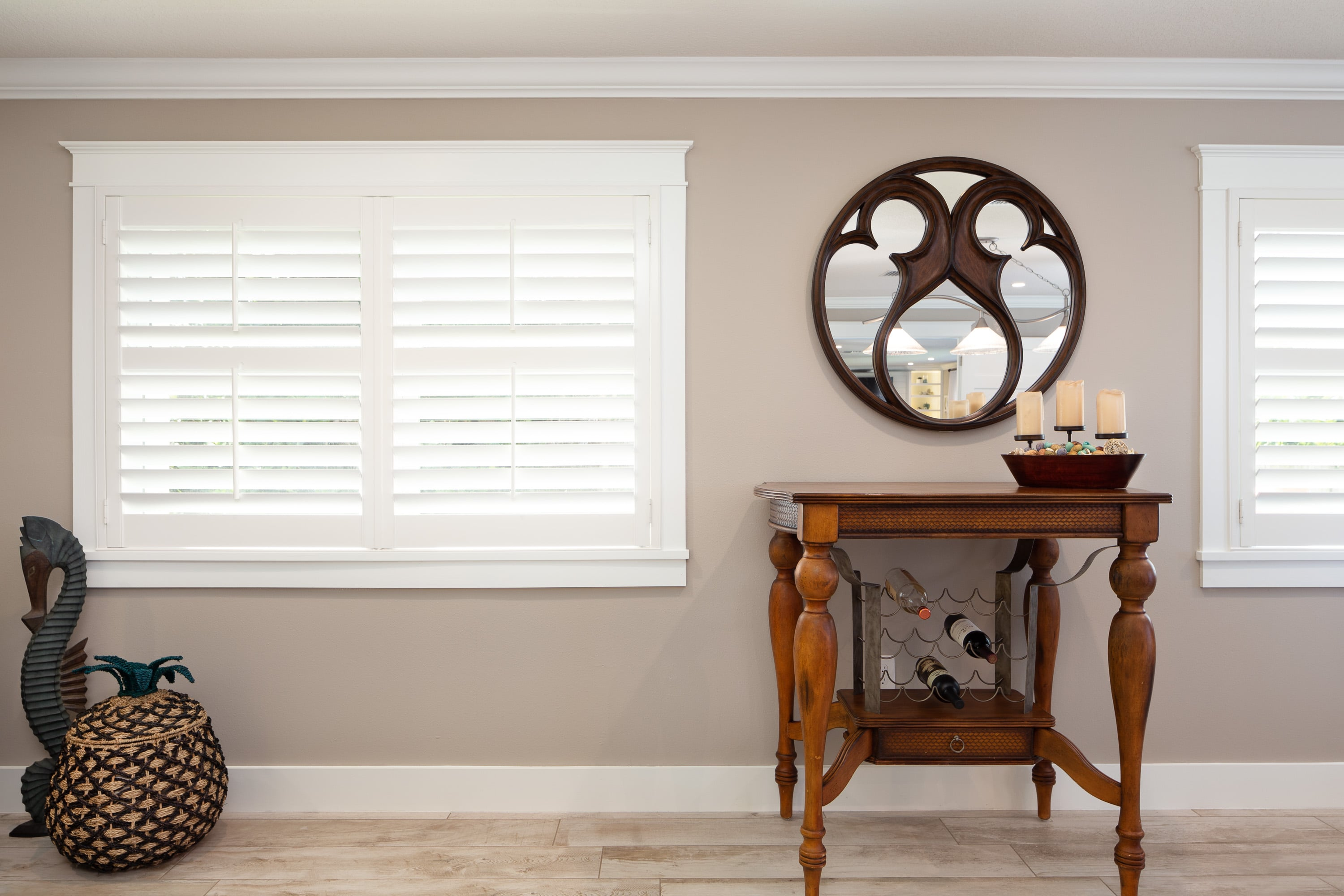 Window Treatments Plantation Shutters Persimmon Interior