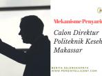 Mekanisme Pemilihan DIrektur
