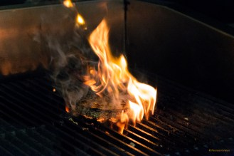 Cooking Burgers - Char Grilled