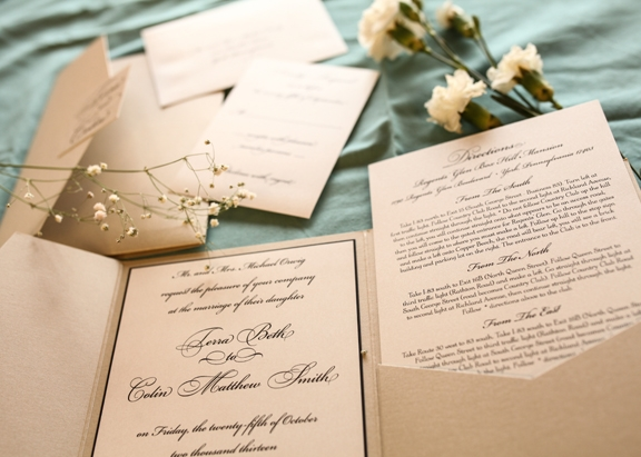 Invitation Inserts What Do I Need