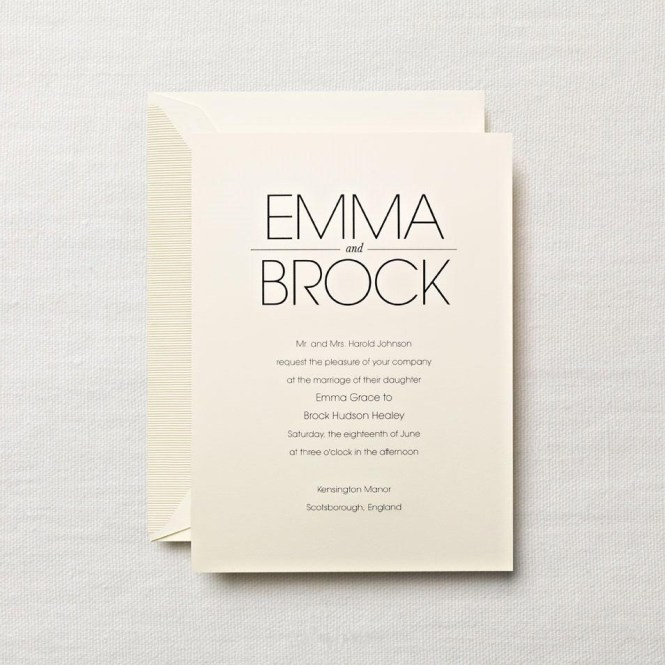 Traditional Engraved Wedding Invitations – Traditional Engraved Wedding Invitations